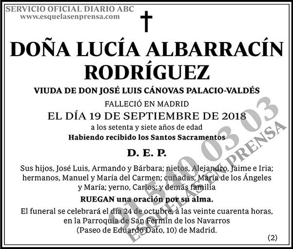 Lucía Albarracín Rodríguez